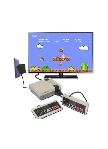 ATARI Atari Süper 8 Bit Game (Atari) 2 Oyun Kolu Renkli